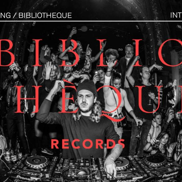 Alex Norling interview Bibliothèque Records