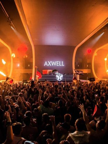 Axwell Axtone stage Tomorrowland 2018