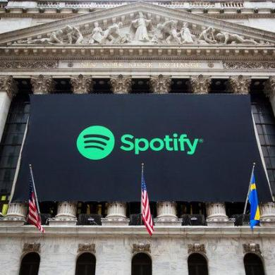 Spotify listing wall street securities