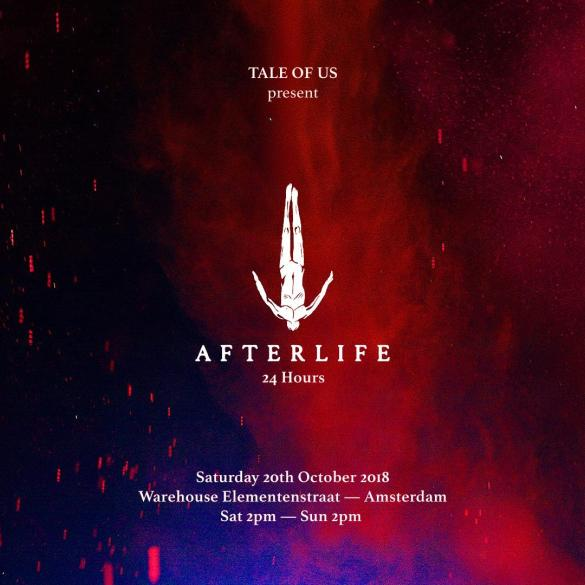 Tale Of Us 24 hours Afterlife Amsterdam Dance Event ADE 2018