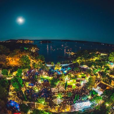 Ultra Europe beach