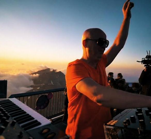 Cercle Stephan Bodzin Piz Gloria Switzerland Alps