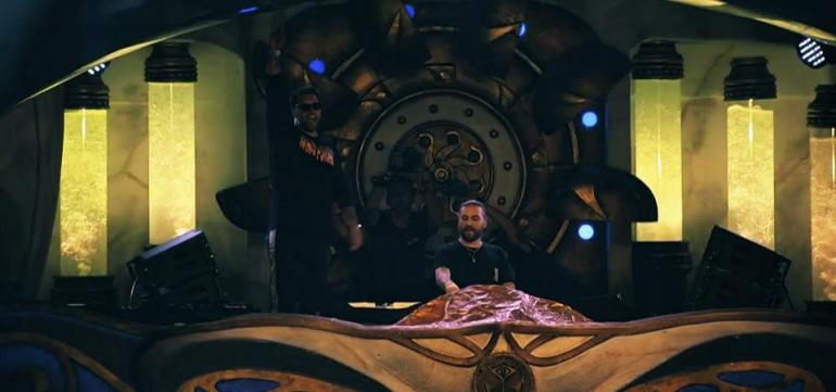 Steve Angello Sebastian ingrosso Tomorrowland 2018