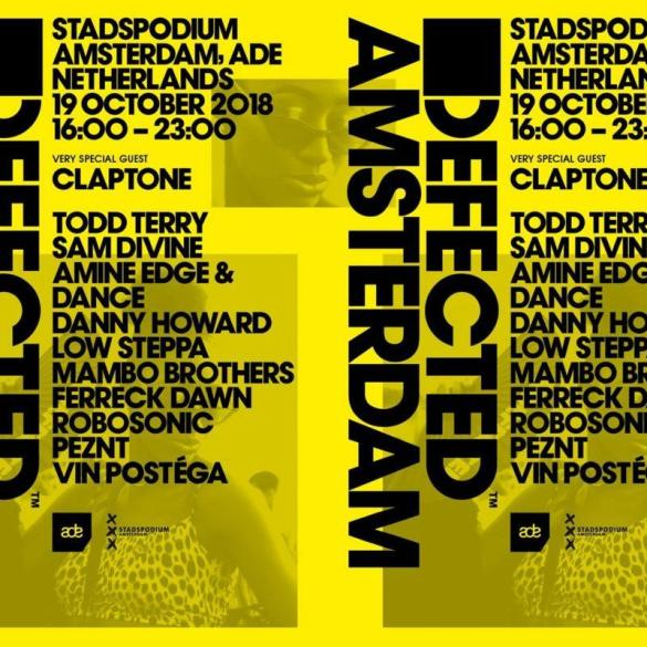 defected ade 2018 amsterdam dance event