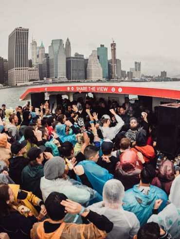 Maceo Plex Cercle New York Hudson River