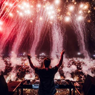 Martin Garrix intro ID India tour Mumbai Delhi