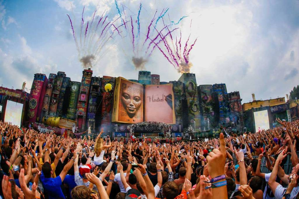 Tomorrowland 2019 concept The Book of Wisdom The Return