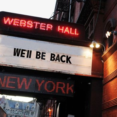 New York Webster Hall reopen 2019
