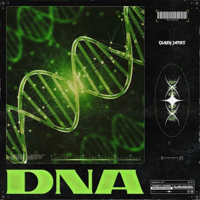 Corey James DNA Size