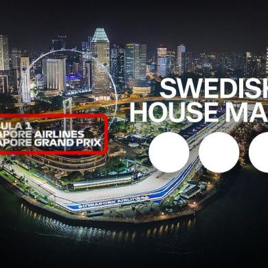 Swedish House Mafia F1 Singapore Grand Prix