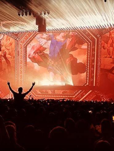 Tele2 Arena Swedish House Mafia stage