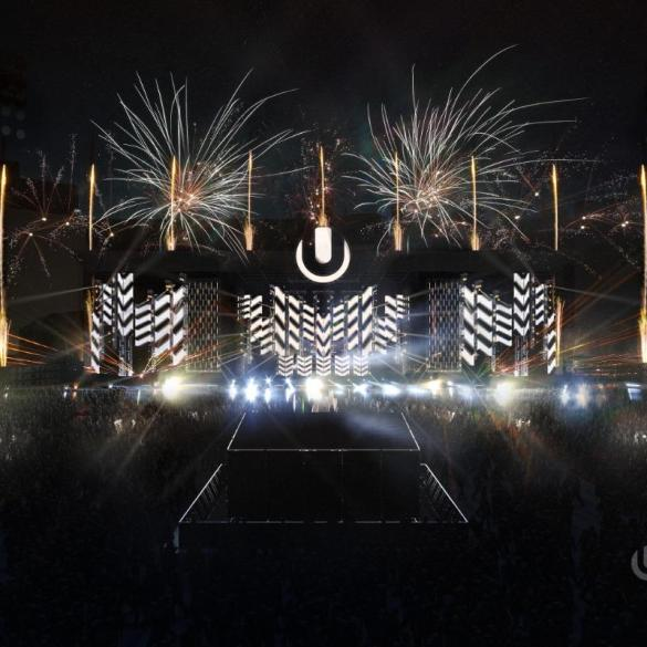Ultra Europe mainstage 3D reconstruction