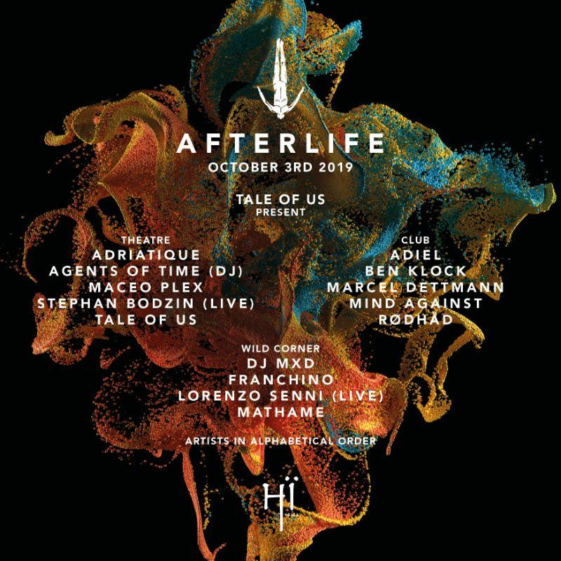 Tale Of Us Afterlife Ibiza 2019