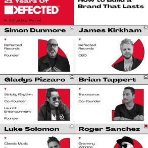 21 Years of Defected WMC panel flyer