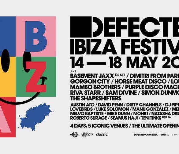Defected Ibiza Festival 2020 lineup