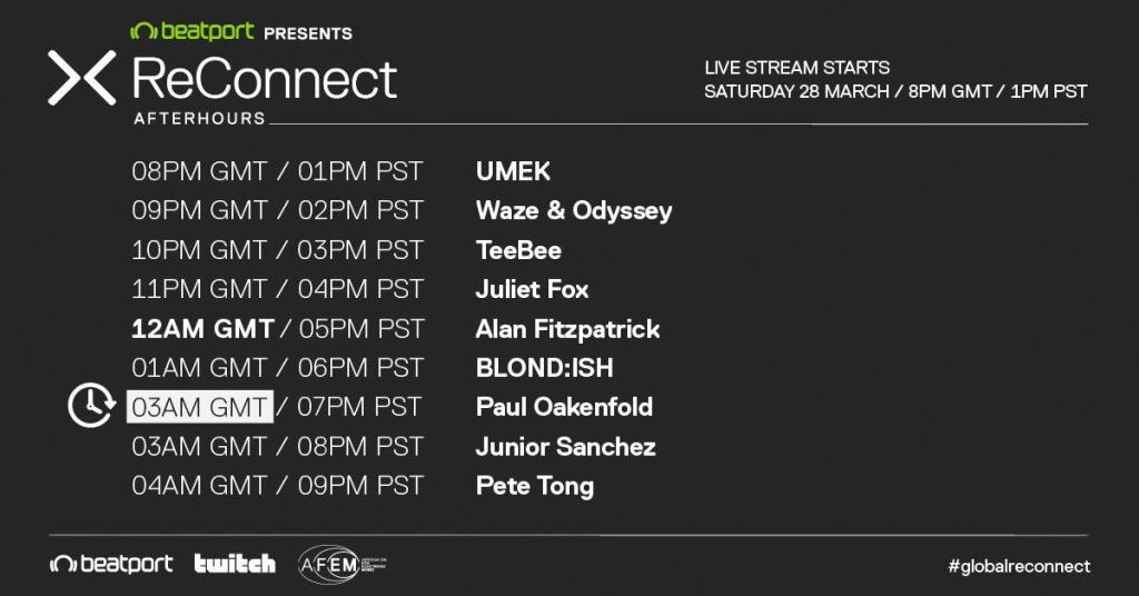 Beatport live stream AfterHours