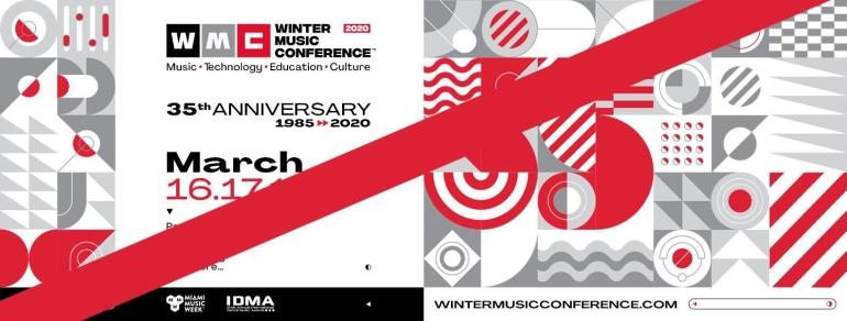 Winter Music Conference 2020 rescheduled
