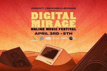 Digital Mirage: Online Music Festival