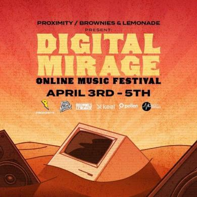 Digital Mirage: Online Music Festival