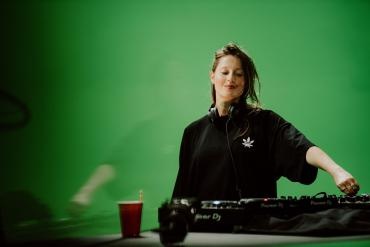 Charlotte de Witte behind the scene Tomorrowland 2020
