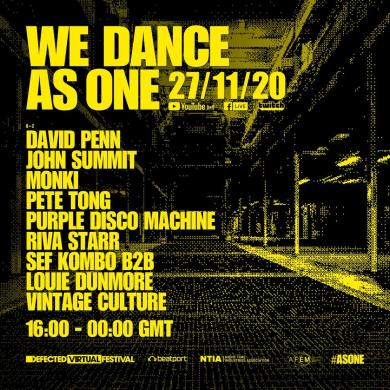 Defected Virtual Festival We Dance As One, the second instalment