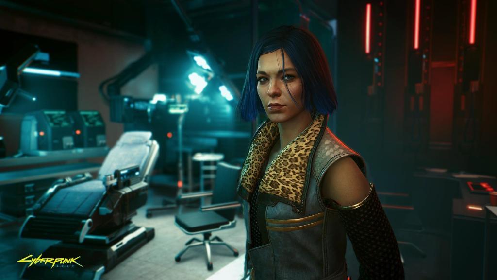 Nina Kraviz Cyberpunk 2077