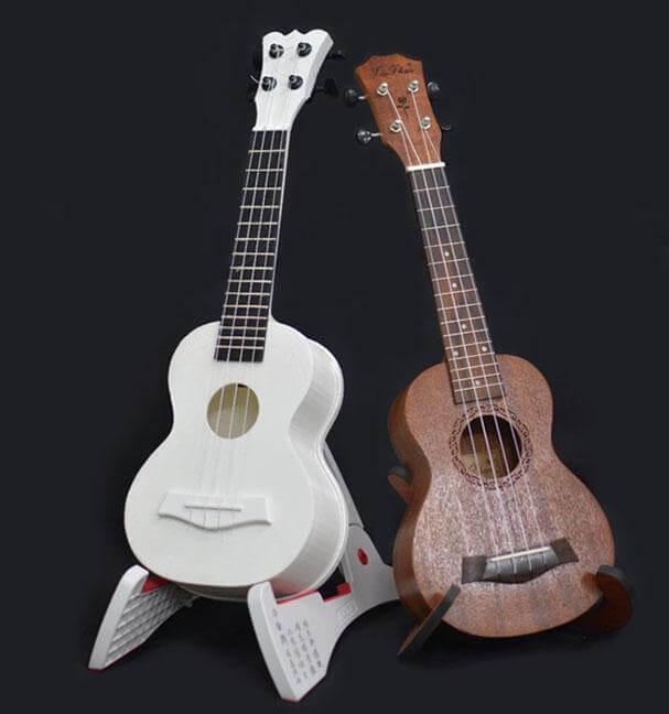 3D printed guitars Source: eurekalert.org