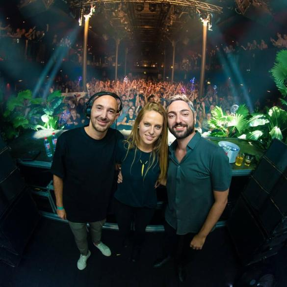 Moonwalk and Nora En Pure at Purified event