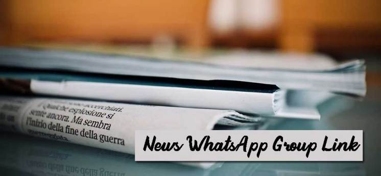 News WhatsApp Group Link