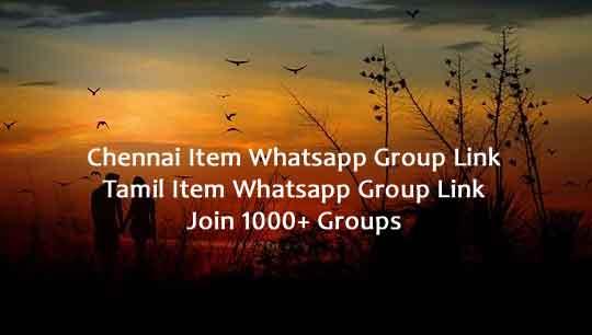 Chennai Item Whatsapp group