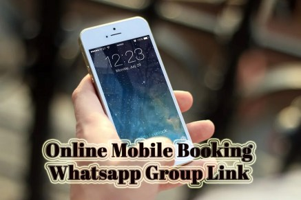 online mobile booking whatsapp