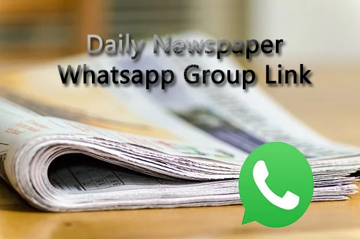 Daily Newspaper Whatsapp Group