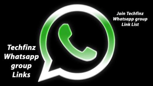Techfinz Whatsapp group