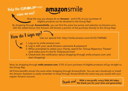 Amazon Smile - The Group Rep