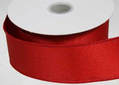 Wrap with red ribbon