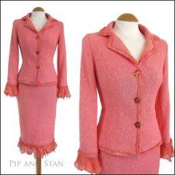 Evil pink suit