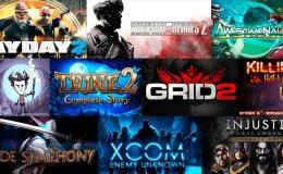 Steam oferta 10 juegos
