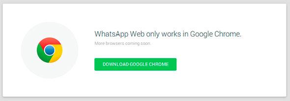 Por ahora solo disponible para Google Chrome