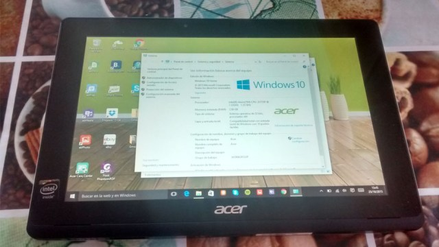 Acer Aspire Switch 10 E caracteristicas