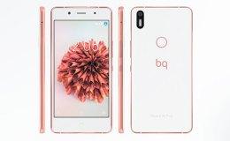 bq Aquaris X5 Plus blanco-oro rosa