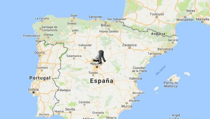 Mapa de las antípodas