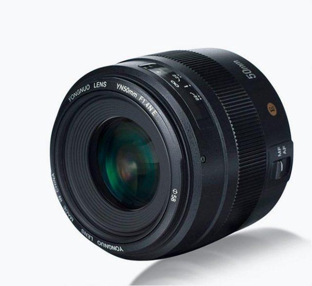 Yongnuo 50 mm f1.4 E