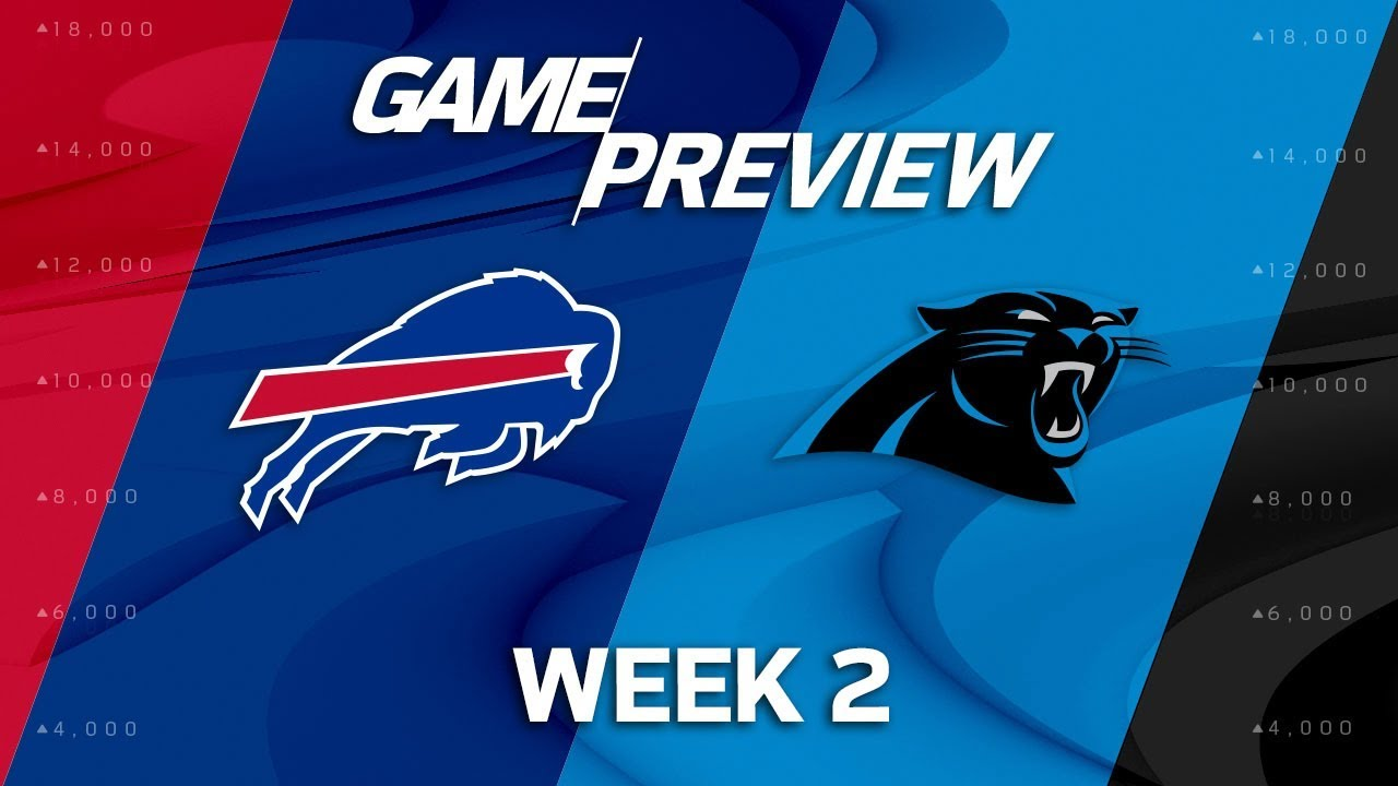 Buffalo Bills vs Carolina Panthers