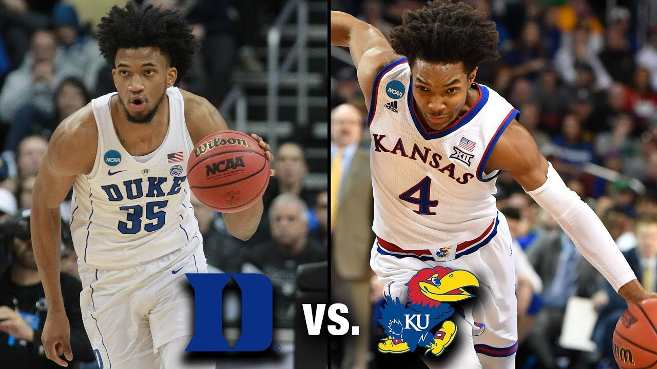 Duke, Kansas show nerves, cold-shooting early in regional final