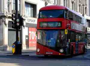 Number 73 London bus