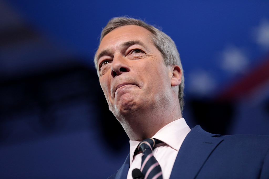 What's Farage up to now?