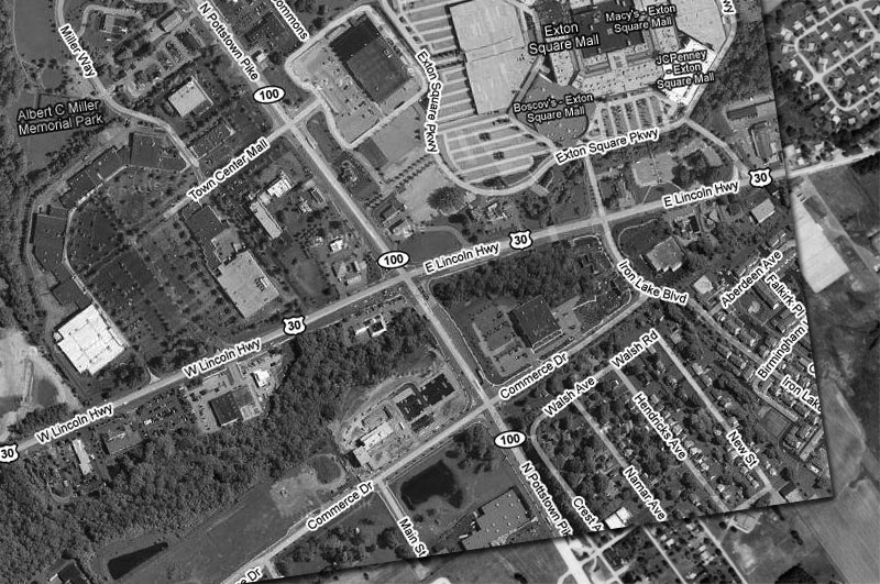 Exton, PA circa 2007