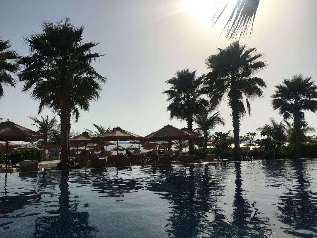 Review: Beach club, Waldorf Astoria – The Palm, Dubai