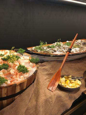 Seafood selection, Delphine H Hotel Dubai Brunch