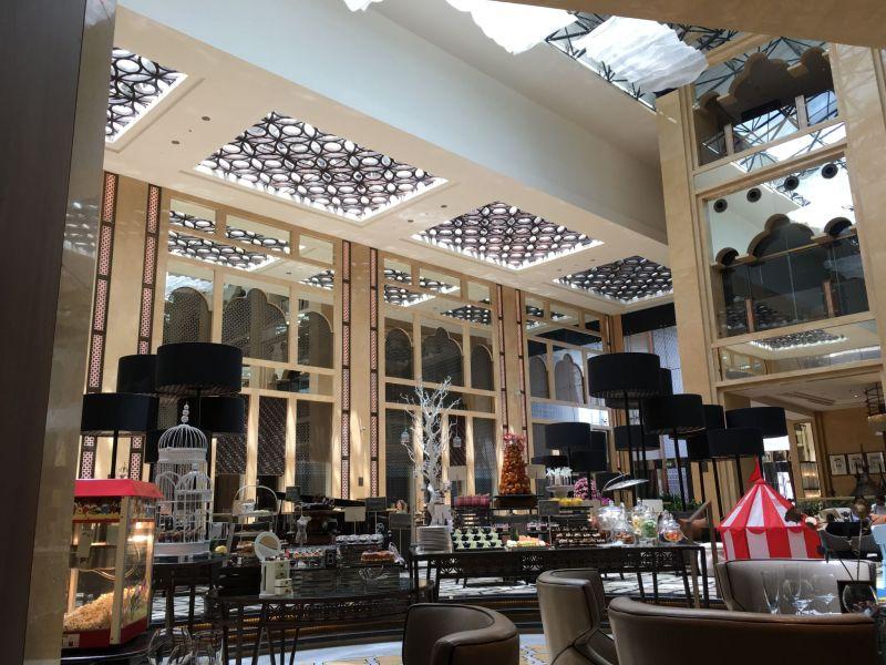 Delphine restaurant lobby, H Hotel, Dubai